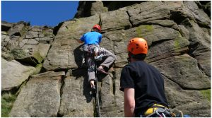 Rock Climbing in the Peaks