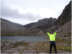 Mountain biking in Torridon