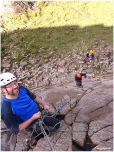 Trad lead climbing refresher