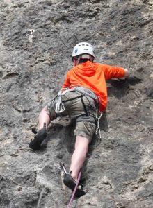 BMC Under 18's sport climbing course
