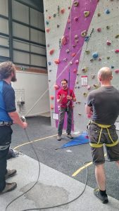 CWDI Climbing Wall Development Instructor training
