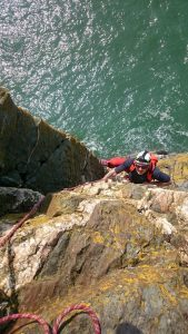 Guided Sea Cliff Climbing