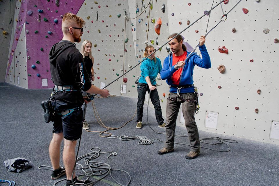 Climbing Wall Development Instructor training CWDI