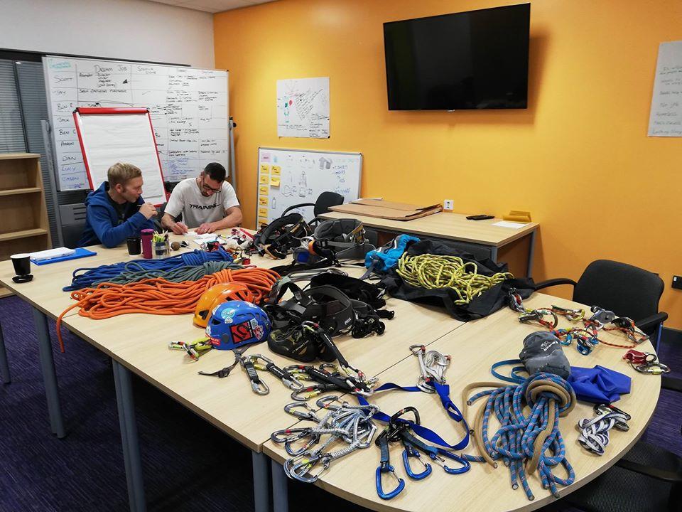 Climbing Wall Development Instructor training course CWDI