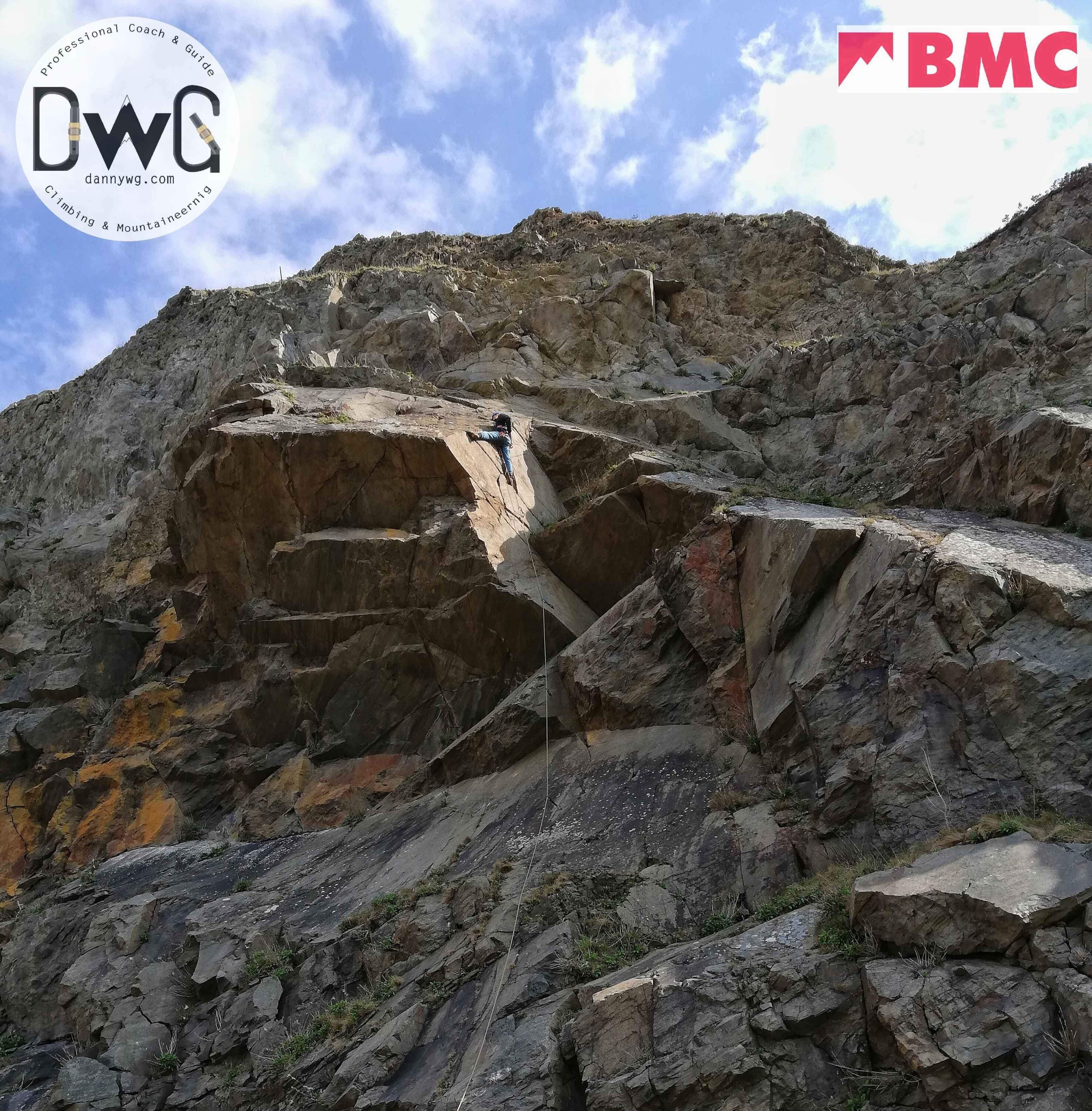 BMC sport climbing courses for young people